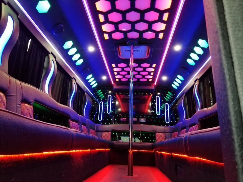 Wildfire Party bus dc