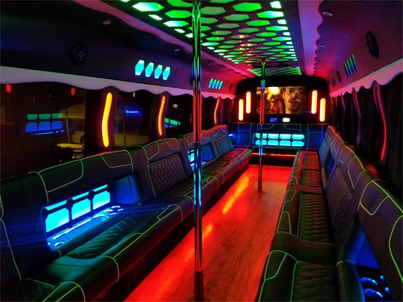 40 passenger party bus