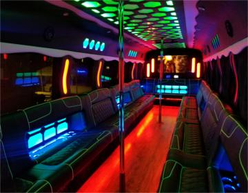 40 passenger party bus dc